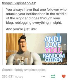 I am that follower. And i also have followers that do that too haha