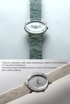 Mt Otakadoya Radio Antenna Watch by The SEIKO Design Project