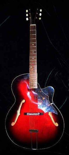 Elvis Presley's mid 1960's Cherry Sunburst acoustic guitar