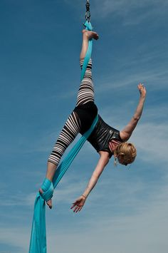Silks - Gorgeous! Would love to learn the silks again