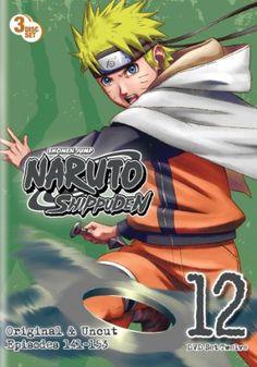 Naruto: Shippuden DVD Set 12 (Hyb) Uncut  #RightStuf2013