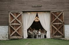 This is in Balls falls at the big Barn, where my friend got married! sooo pretty! love it there