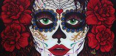 #catrina #myart #grafomaniatica #art #malujohansen #malu #johansen