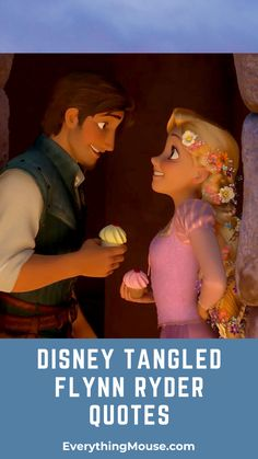 The Best Collection of Funny Flynn Rider Quotes from Disney's Tangled Movie.