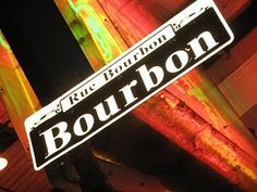 Bourbon Street in the French Quarter - New Orleans