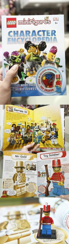 LEGO Minifigures Character Encyclopedia – First images