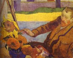 vincent van gogh painting of gauguin - Google Search