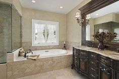 Master Bath Remodel Ideas Decor Interior Best Master Bathroom with regard to Captivating Small Master Bathroom Remodel Ideas Master Bathroom Shower, Bathroom Floor Plans, Luxury Master Bathrooms, Small Bathroom, Basement Bathroom, Bathroom Plumbing, Bathroom Cabinets, Tuscan Bathroom, Bathroom Marble