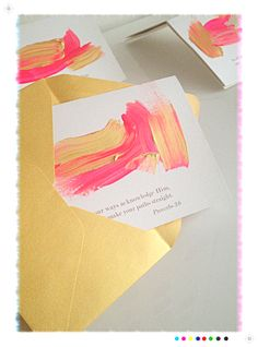 Great and easy way to make inspirational card