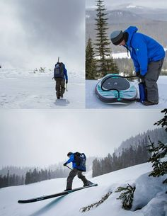Snow SUP-ing - http://standuppaddleboardreviewsite.com