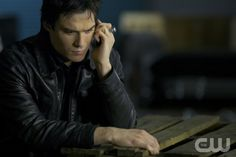 """THE VAMPIRE DIARIES  """"The Departed""""  Pictured: Ian Somerhalder as Damon.  Annette Brown/The CW  © 2012 The CW Network, LLC. All rights reserved."""