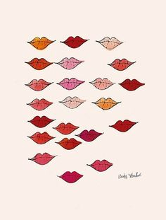 Lips by Andy Warhol, 1959.