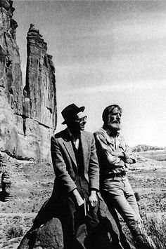Edward Abbey et Robert Crum