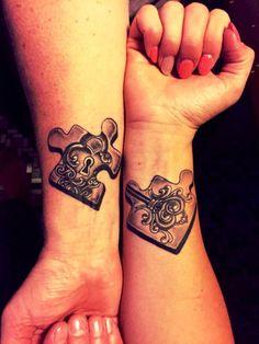 Puzzle Couple Tattoos