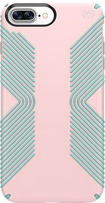 Speck Presidio Grip Case for iPhone 7 Plus/6s Plus/6 Plus, Quartz Pink