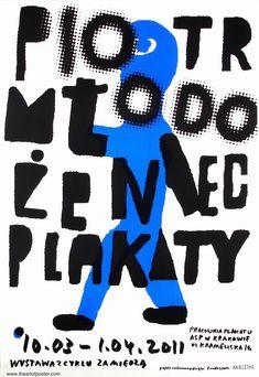 Piotr Mlodozeniec Posters Cracow Piotr Mlodozeniec Plakaty ASP Krakow Mlodozeniec Piotr Polish Poster