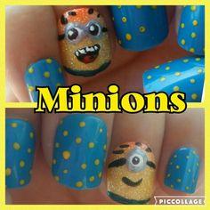 Minion nails Minion Nails, Minions, Minion Party, Minion, Minion Stuff