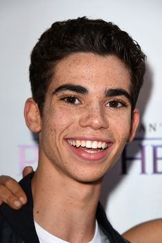 Cameron Boyce Photos - Guests Attend a Screening of GKIDS' 'Kahlil Gibran's The Prophet' - Zimbio Cameron Boys, Dove Cameron, Cameron Boyce Descendants, Thomas Doherty, Mackenzie Ziegler, Sofia Carson, Child Actors, I Miss Him, Now And Forever