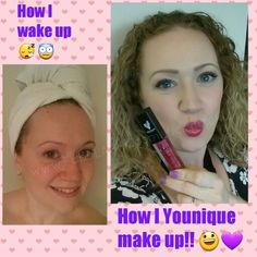The power of makeup! Magic makeup! Photo shop in a compact! Call it what you want!  I'm no makeup artist but I know for sure that I look and feel 100 times better when I'm made up!!  #loveyounique #lovemakeup #playwithmakeup  www.FabuLASHCosmetics.co.uk