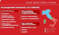 Infoografica PON e POR FESR #ClippedOnIssuu from I fondi europei per la coesione