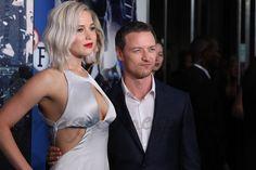 """james mcavoy  Jennifer Lawrence y James Mcavoy en el estreno de """"X-Men: Apocalipsis"""" en Londres"""