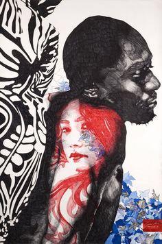 Gabriel Moreno - Surreal Pen and Brush Illustrations 5