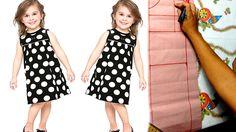 Introdução à costura: Aprenda a traçar molde de vestido infantil [ aula 3]