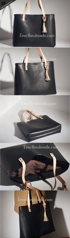 041b3be8f0a Handmade Leather handbag tote purse shoulder bag for shopper Chloe  Handbags, Tote Handbags, Purses