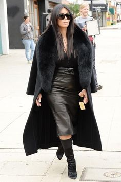 31 Chic Outfit Ideas For Every Day In January - 31 Chic Outfit Ideas For Every Day In January - Winter Mode Outfits, Winter Fashion Outfits, Fur Fashion, Chic Outfits, Autumn Fashion, Fashion Looks, Womens Fashion, Fashion Trends, Estilo Jenner