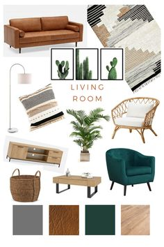 Living Room Inspo, Boho Living Room, Living Room Scandinavian, Home And Living, Home Living Room, Boho Living Room Decor, Havenly Living Room, Room Decor, Apartment Decor