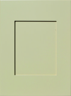"""Merit Flat Panel Door  Available Material: MDF Color Shown: Accessible Beige Paint Available in All Outside Profiles - Shown with 18"""" Roundover Outside Profiles Accessible Beige, Beige Paint, Face Framing, Custom Cabinetry, Panel Doors, Cabinet Doors, Color Show, Profile, Flat"""
