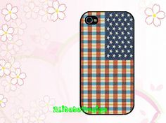 Iphone 4 case iphone 4s case iphone 5 casePlaid by AlibabaDesign, $6.88