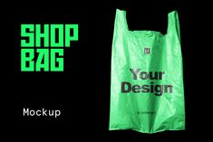 Plastic Shopping Bag Mockup by Studio on Plastic Carrier Bags, Plastic Shopping Bags, Bag Display, Bag Mockup, Indesign Templates, Graphic Design Layouts, Coreldraw, Graphic Illustration, Photoshop