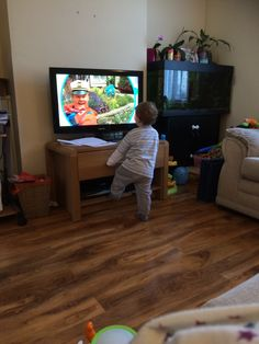 Talking about the toddler and tv time