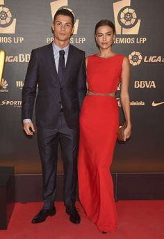 In one of the first splits of 2015, supermodel Irina Shayk and superstar athlete Cristiano Ronaldo announced they'd parted ways in January 2015. Irina's representative confirmed the breakup after the two reportedly chose to spend the New Year holidays apart. The genetically gifted couple, who met on the set of an Armani ad, had been dating for five years. Irina has since moved on with Bradley Cooper.