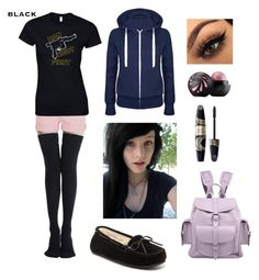 """""""Emo Hipster #5"""" by godfidence on Polyvore featuring Current/Elliott, Max Factor, Grafea and Minnetonka"""