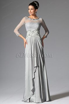 Gorgeous Beaded Lace Appliques Formal Gown Mother of the Bride Dress (26148608)