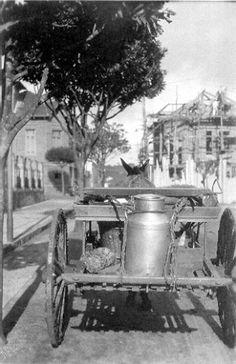Obs de JuRicardo - como morava em área rural assim era a nossa carrocinha de leite nos anos 50