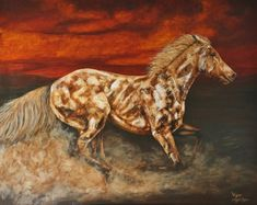 Original Horse Painting by James C Byrne Artist Painting, Chalk Painting, Original Paintings, Original Art, Abstract Expressionism Art, Dark Backgrounds, Beautiful Horses, Buy Art, Saatchi Art
