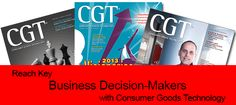 Reach Top Business Decision-Makers with Consumer Goods Technology