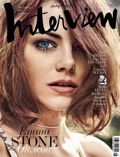 Emma Stone by Craig McDean for Interview Magazine Germany July/August 2015
