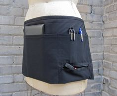 Hey, I found this really awesome Etsy listing at http://www.etsy.com/listing/110954595/server-apron-in-black-with-one-zipper