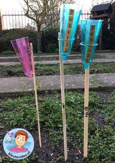 regenmeter maken met kleuters, thema water, kleuteridee Reggio Emilia, Education, Socialism, Blue Prints, Middle, Weather, Onderwijs, Learning