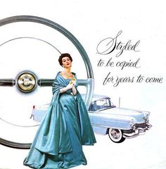 1954 Cadillac advertisement