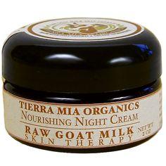 Tierra Mia Organics, Raw Goat's Milk Skin Therapy, Nourishing Night Cream. Discount code: HLD630.