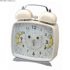 目覚まし時計 SHEEP CL-2942/レトロ&かわいい&ポップな置き時計 インテリアハート