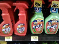 Resolver Pre-Tratamiento Para Ropa Solo $1.48 En Walmart!