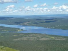 view from Mount Niepsurt over laisan & laisvallby village