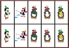 Freebie Friday: Penguin Memory/Describing Cards