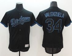 e834ddbaf MLB New Los Angeles Dodgers Jersey Mens 42 Jackie Robinson Black with Blue  Shadow Flexbase Collection Baseball Jersey